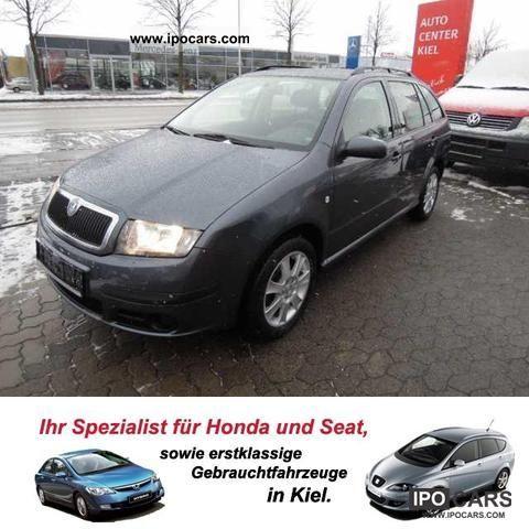 2006 Skoda  Fabia Combi 1.4 TDI, 1 Hand, air conditioning Estate Car Used vehicle photo