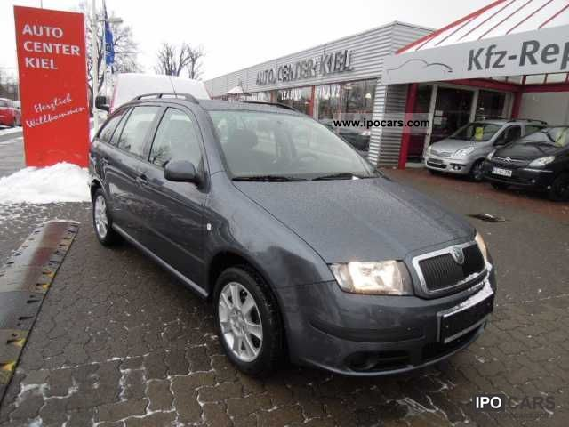 2006 skoda fabia combi 1 4 tdi 1 hand air conditioning car photo and specs. Black Bedroom Furniture Sets. Home Design Ideas