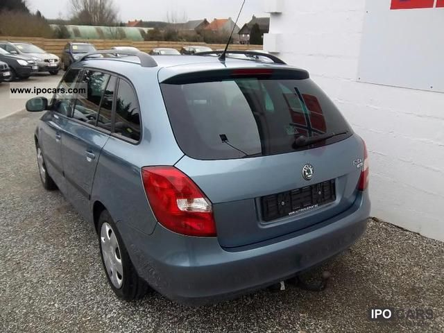 2008 skoda fabia 1 4 16v break car photo and specs. Black Bedroom Furniture Sets. Home Design Ideas