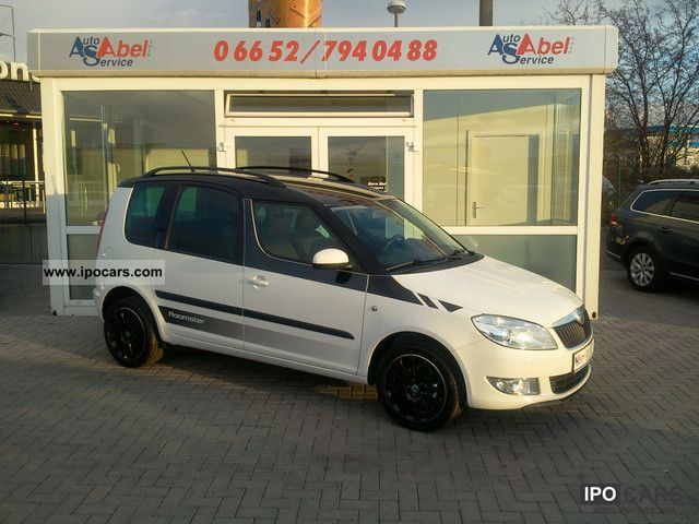 2012 Skoda  ROOMSTER 1.2TSI AMBITION STYLE PLUS ESP PDC ° ° ° SHZ Limousine Used vehicle photo