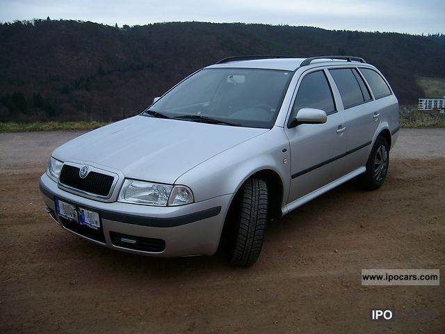2003 skoda octavia combi 2 0 automatic related infomation specifications weili automotive network. Black Bedroom Furniture Sets. Home Design Ideas