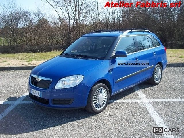 Skoda  Fabia 1.2 Wagon Style GPLine ** 56 000 ** km 2008 Liquefied Petroleum Gas Cars (LPG, GPL, propane) photo