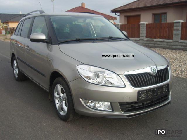 2010 Skoda  Fabia Combi 1.6 16V Elegance Estate Car Used vehicle photo
