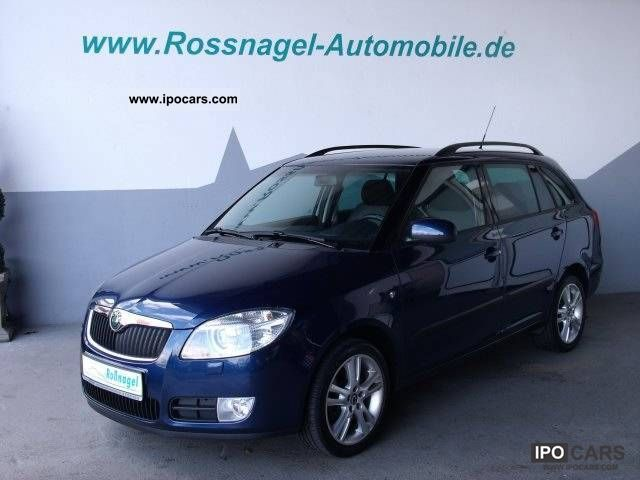 2008 Skoda  Fabia Combi 1.9 TDI - Sport, PDC Estate Car Used vehicle photo