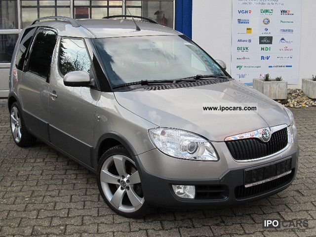 Skoda  Roomster Scout 1.6 16V * LPG Autogas * 2007 Liquefied Petroleum Gas Cars (LPG, GPL, propane) photo