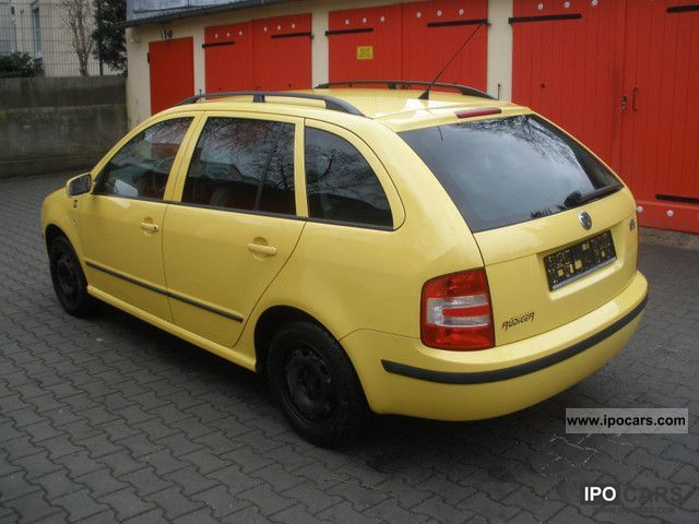 2005 skoda fabia 1 4 16v combi tour de france car photo. Black Bedroom Furniture Sets. Home Design Ideas