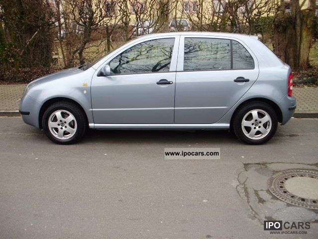 2003 skoda fabia 1 2 htp 1 hand car photo and specs. Black Bedroom Furniture Sets. Home Design Ideas
