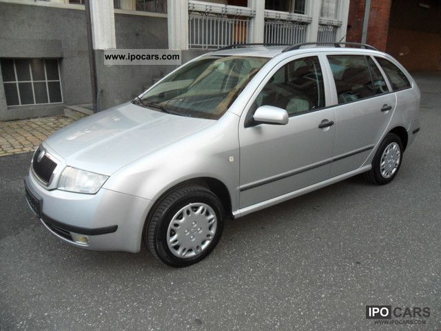 2003 Skoda  Fabia Combi 1.9 TDI, climate, checkbook, Euro3 Estate Car Used vehicle photo