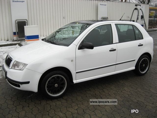 2003 Skoda Fabia 1 9 Tdi Elegance Sedan Air Conditioning 3