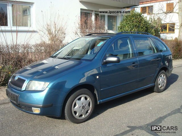 2003 skoda fabia 1 2 htp classic combi car photo and specs. Black Bedroom Furniture Sets. Home Design Ideas