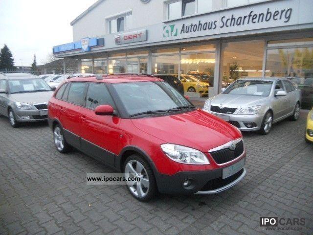 2011 Skoda  Fabia Combi Scout 1.6 TDI climate SHZ PDC Estate Car Used vehicle photo