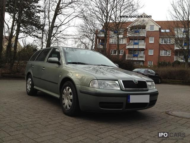 2002 skoda octavia combi 1 9 tdi ambiente car photo and specs. Black Bedroom Furniture Sets. Home Design Ideas