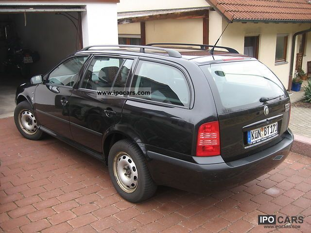 2002 Skoda  Octavia Combi Elegance 1.8 T 4x4 Estate Car Used vehicle photo