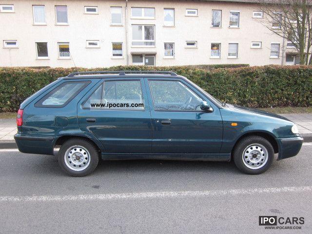 1999 Skoda  Felicia Combi 1.3 1.Hand 140tkm Friend Estate Car Used vehicle photo