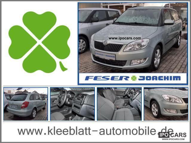 2011 Skoda  Fabia Combi 1.2 TSI Comfort EDITION, Sitzhzg. Estate Car Used vehicle photo