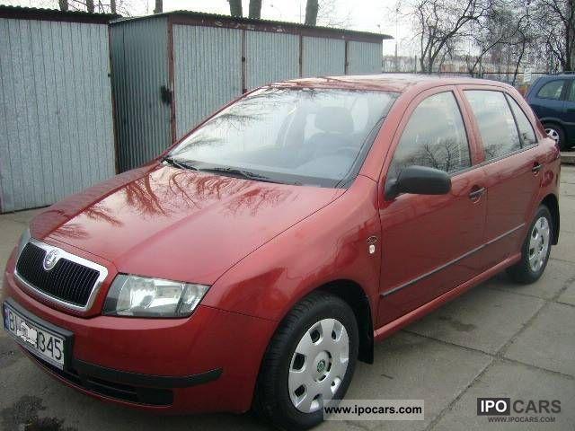 2003 Skoda  Fabia 1.2 I WŁ.SALON Small Car Used vehicle photo