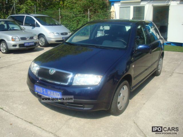 2005 skoda fabia 1 4 16v classic air 1 hand checkbook car photo and specs. Black Bedroom Furniture Sets. Home Design Ideas