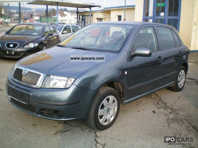 2005 Skoda  Fabia ~ ~ 1 hand Limousine Used vehicle photo