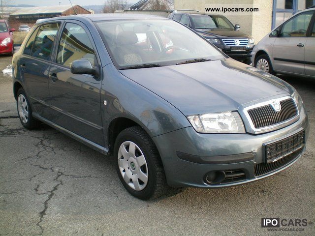 2005 skoda fabia 1 hand car photo and specs. Black Bedroom Furniture Sets. Home Design Ideas