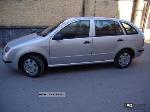 2003 skoda fabia 1 9 tdi comfort sw car photo and specs. Black Bedroom Furniture Sets. Home Design Ideas