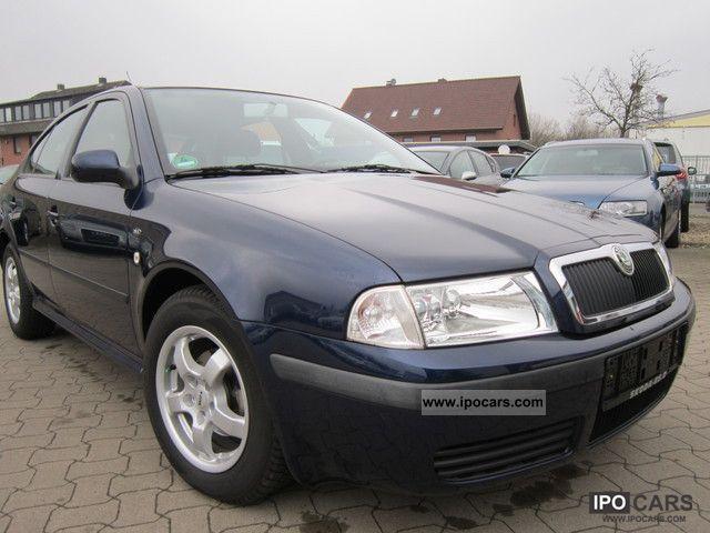2001 Skoda  Octavia 1.6 Ambiente climate 1.Hand PDC Limousine Used vehicle photo