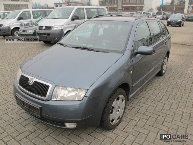 2004 skoda fabia combi 1 9 tdi extra car photo and specs. Black Bedroom Furniture Sets. Home Design Ideas