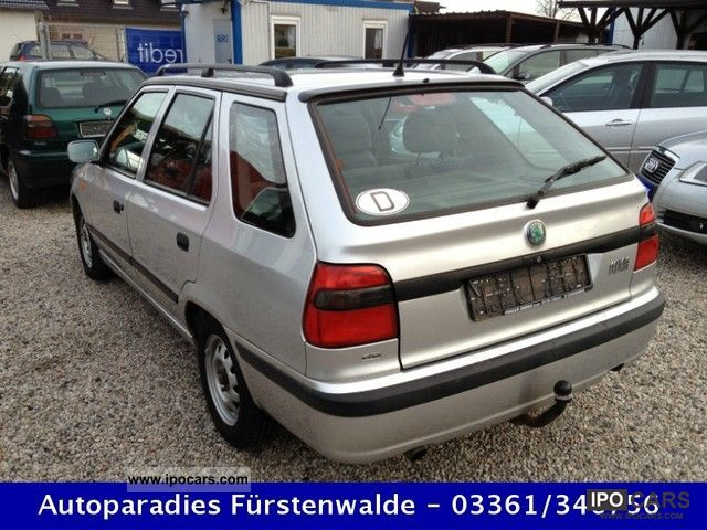 2000 Skoda  Felicia Combi 1.6 * Climate * power windows * AHK Estate Car Used vehicle photo