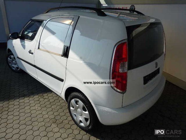 2009 Skoda Roomster 1 4 Practice Car Photo And Specs