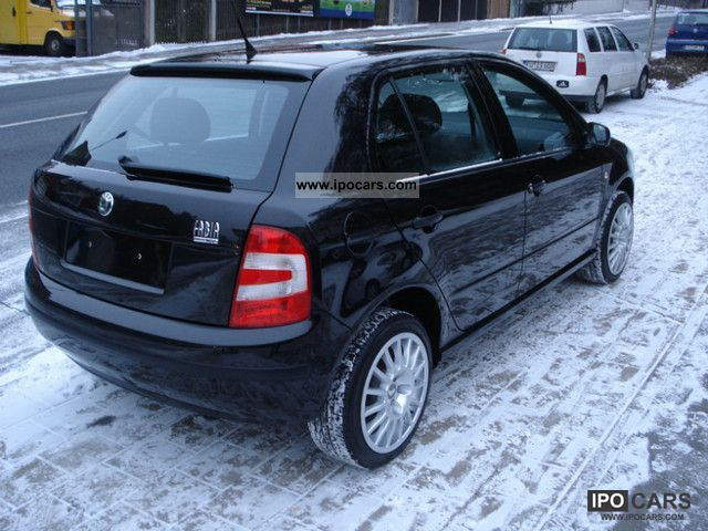 2006 skoda fabia 1 4 16v climate black met 1 hand 16. Black Bedroom Furniture Sets. Home Design Ideas