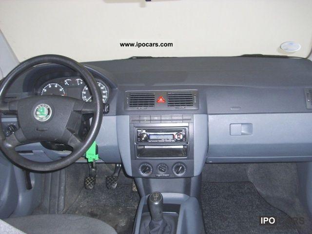 2004 skoda fabia 1 4 air conditioning car photo and specs - Skoda fabia interior ...