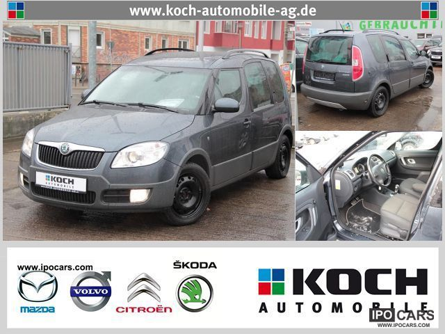 Skoda  Roomster Scout 1.6 16V Automatic panorama roof 2008 Liquefied Petroleum Gas Cars (LPG, GPL, propane) photo