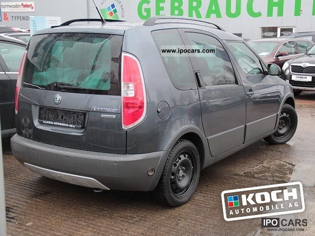2008 skoda roomster scout 1 6 16v automatic panorama roof car photo and specs. Black Bedroom Furniture Sets. Home Design Ideas