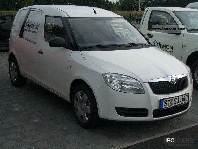 2007 Skoda  1.4 TDI DPF practice air * wood floor * roof rail Van / Minibus Used vehicle photo