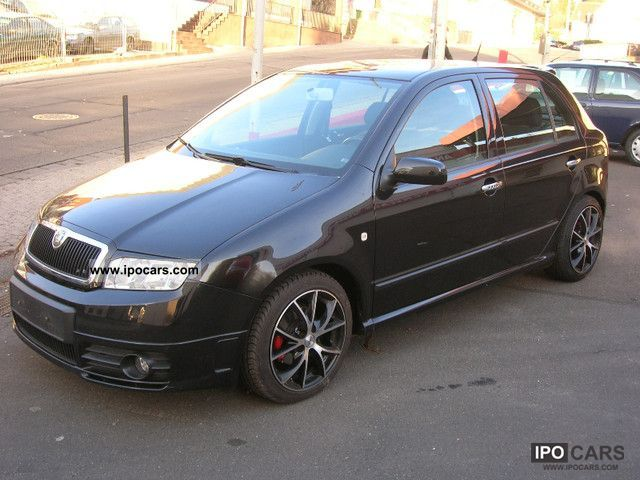 Skoda  Fabia 1.4 16V Elegance Tuning 2004 Tuning Cars photo