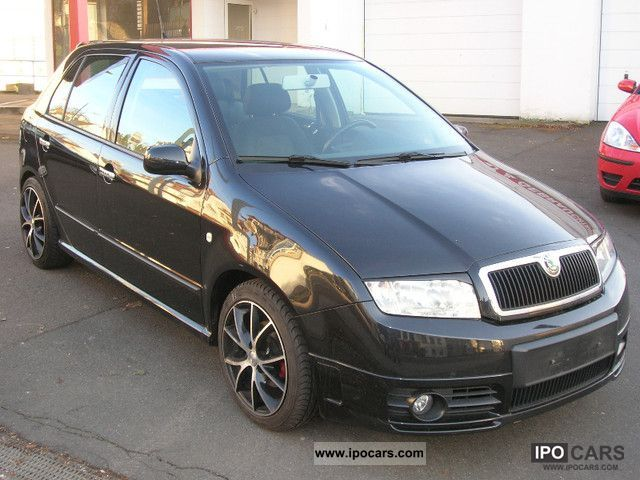 2004 skoda fabia 1 4 16v elegance tuning car photo and specs. Black Bedroom Furniture Sets. Home Design Ideas