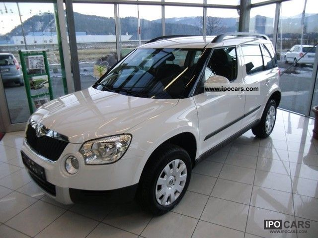 2012 Skoda  Twenty Yeti 1.2 TSI Active Off-road Vehicle/Pickup Truck Employee's Car photo