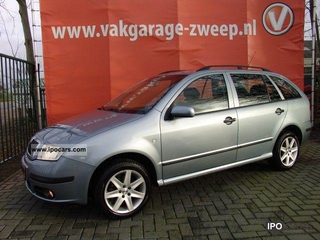 2004 skoda fabia combi elegance 1 9 tdi 101pk car photo and specs. Black Bedroom Furniture Sets. Home Design Ideas