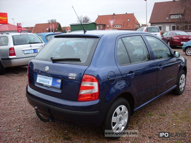 2006 skoda fabia 1 4 16v cool climate 1 hand 1st year. Black Bedroom Furniture Sets. Home Design Ideas