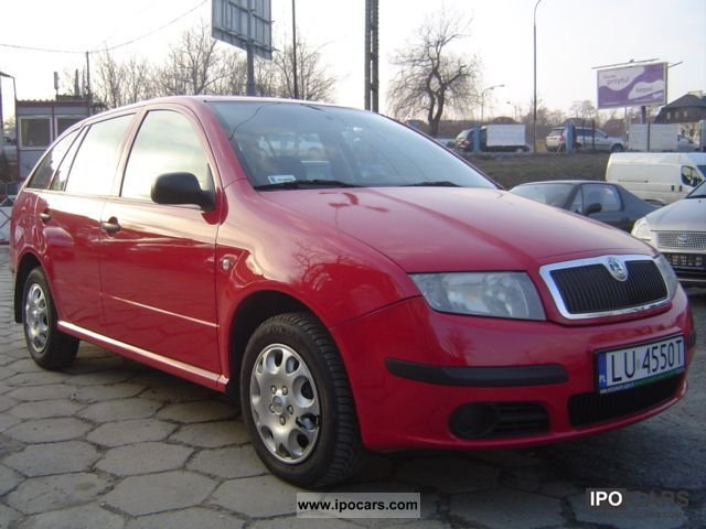 2005 Skoda  Fabia 1.9 SDI salon Polska Small Car Used vehicle photo