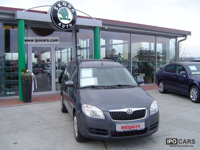 2011 Skoda  1.6l 77kW TDI Roomster Style Plus Edition Style Van / Minibus New vehicle photo