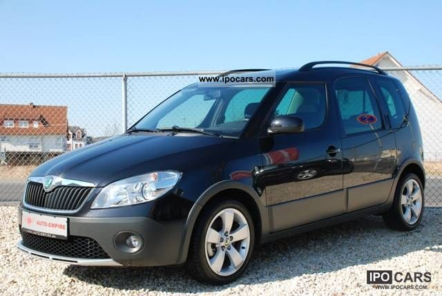 2011 skoda roomster scout 1 6 tdi cr 105 ps plus edition. Black Bedroom Furniture Sets. Home Design Ideas
