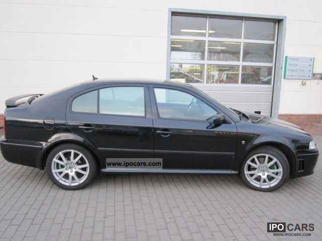 2004 skoda octavia rs 1 8 t car photo and specs. Black Bedroom Furniture Sets. Home Design Ideas
