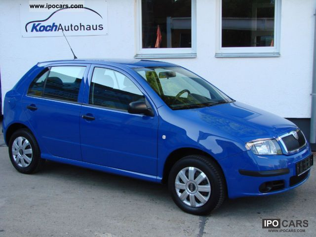 2006 skoda fabia 1 4 16v climate 1 hand car photo and specs. Black Bedroom Furniture Sets. Home Design Ideas