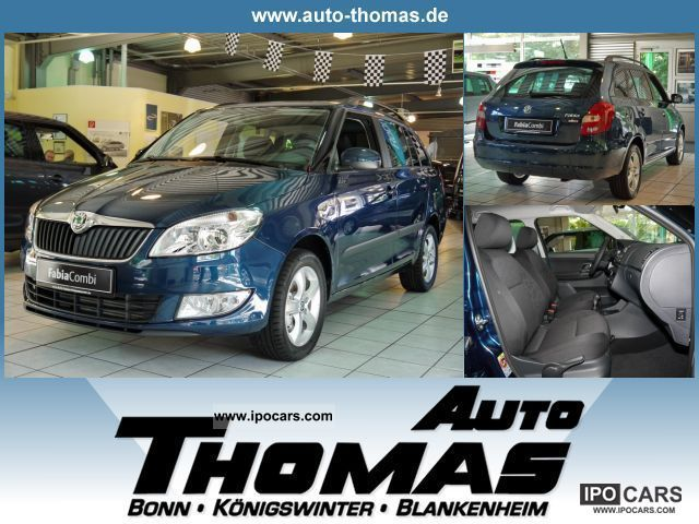 2011 Skoda  Fabia Combi 1.6 TDI DPF Family Estate Car Demonstration Vehicle photo
