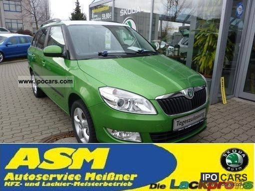 Skoda  Fabia 1.4 MPI with Combi FAMILY CAR GAS SYSTEM 2011 Liquefied Petroleum Gas Cars (LPG, GPL, propane) photo