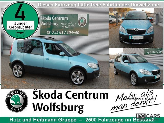 2011 Skoda Roomster Scout 16 Tdi Dpf Edition Plus Car Photo And Specs