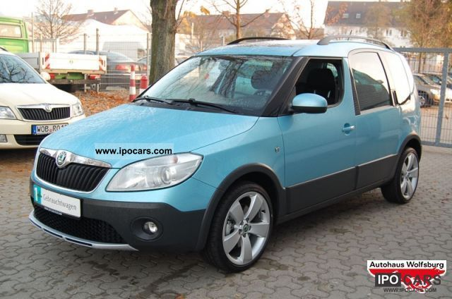skoda roomster scout 1.6 at