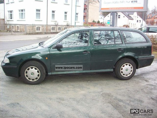 2000 skoda combi octavia 1 6 lx car photo and specs for Interieur skoda octavia 2000