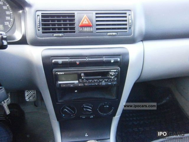 2000 skoda octavia klimatyzacja car photo and specs for Interieur skoda octavia 2000