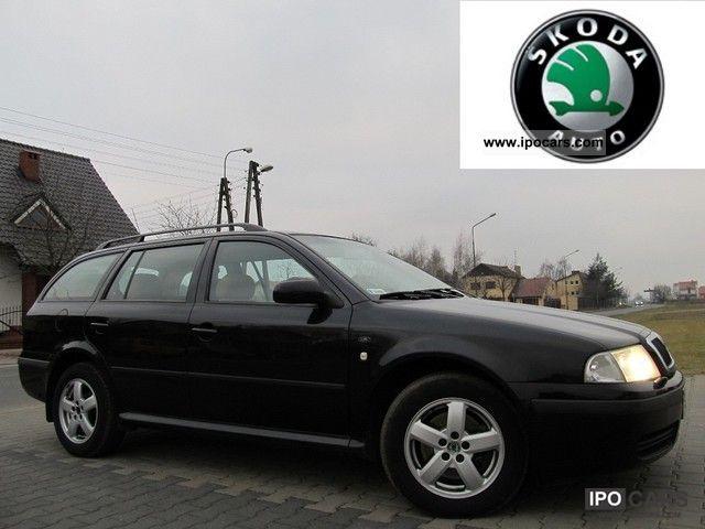 2002 Skoda  Octavia INST.GAZ., SKORA, XENON Estate Car Used vehicle photo